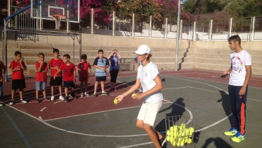 Tennis at School