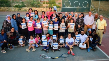 After School Tennis and Homework Club – Jisr a-Zarqa